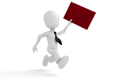 Dringende Post wird als Express Brief am nächsten Werktag zugestellt.