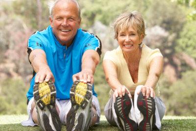 Bewegung und Gymnastik fördern die Durchblutung.