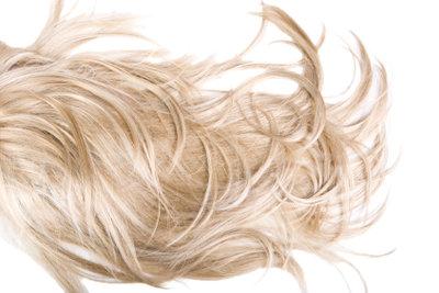 Knallblonde Haare - ein Muss für Lady Gaga