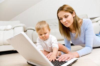 Wer von zuhause aus arbeitet, kriegt Job und Familie problemlos unter einen Hut.
