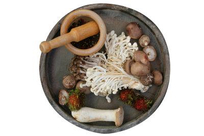 Ein Rezept zum Zubereiten für Birkenpilze