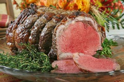 Roastbeef eignet sich sehr gut als leichtes Weihnachtsessen.
