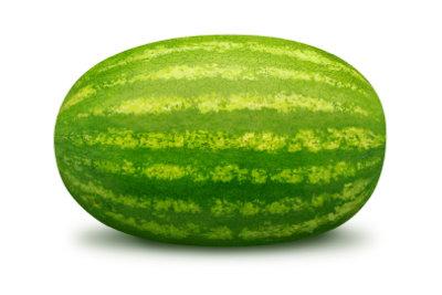 So grillen Sie eine Wassermelone.
