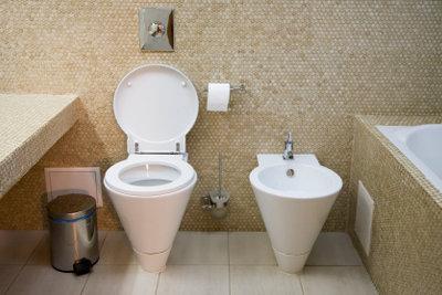 Kleinere Defekte am Toilettensystem können Sie leicht selbst beheben!