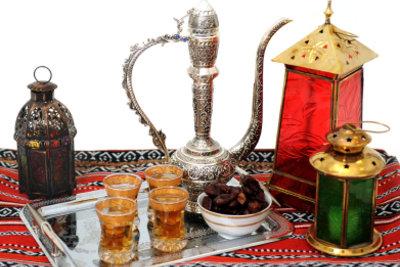 Tee gehört zu jedem Fest und ist ein Bestandteil der muslimischen Kultur.