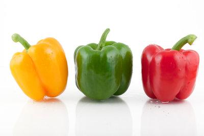 Paprika lässt sich wunderbar einfrieren, ohne dass Vitamine verloren gehen.