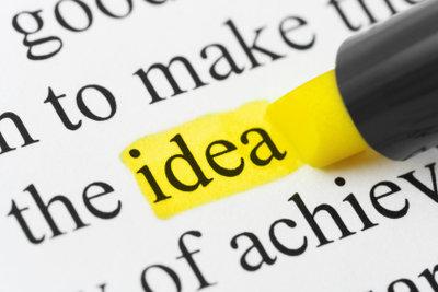 Durch das Herausarbeiten der Schlüsselwörter können Sie den Inhalt eines Textes schneller erfassen.