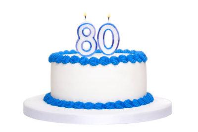Kreative und geschmackvolle Geschenkideen zum 80. Geburtstag!