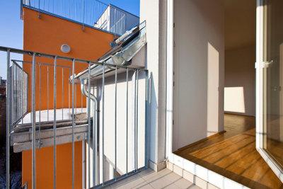 Eine Baugenehmigung ist auch für einen Balkon unerlässlich