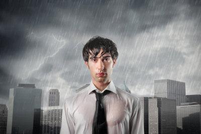 Es kann einem schon den Tag versauen, wenn es regnet und man den Schirm vergessen hat.