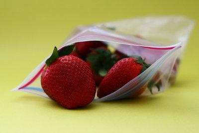 Diese Erdbeeren können Sie im Vakuumgerät vakuumieren.