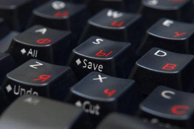 Die Tastenbelegung definiert, welche Zeichen sich wo auf der Tastatur befinden.