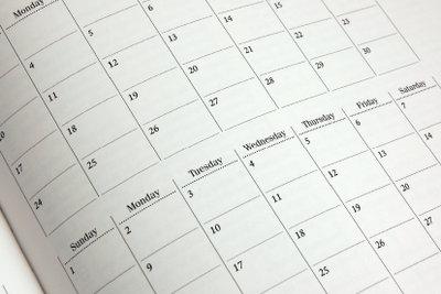 Die Aussprache des englischen Datums ist mit ein paar Regeln schnell zu lernen.