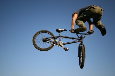 So beflügelt sieht ein jumping jack flashed mit dem BMX aus!
