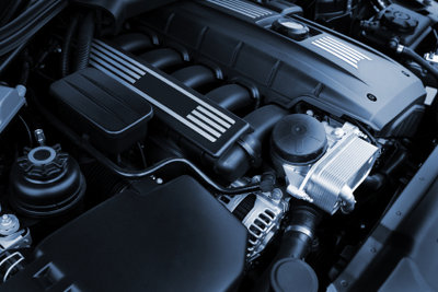 Ist Diesel eingefroren, entstehen Flocken aus Paraffin.