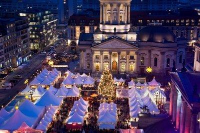 Hier könnten Sie ebenfalls auf dem Weihnachtsmarkt verkaufen.