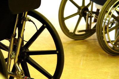 Der Behindertenausweis verrichtet gute Dienste.