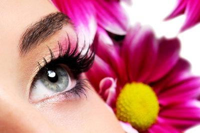 Augenmodel zu werden ist nicht ganz einfach, aber möglich.