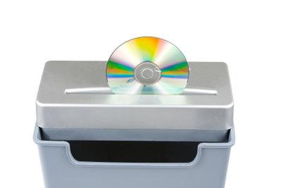 CDs gehören nicht in den Schredder.