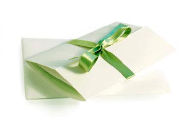 Geschenkgutscheine können Sie ganz einfach selbst erstellen.