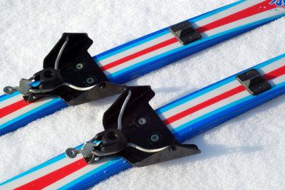 Mit richtig gepflegten Langlaufskiern klappt es.