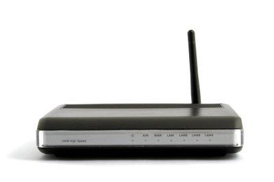 Der Router dient als Schnittstelle.