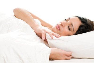 In sauberem Daunenbettzeug schläft man gut.
