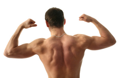 An Muskelmasse zunehmen ist auch durch richtige Ernährung möglich.