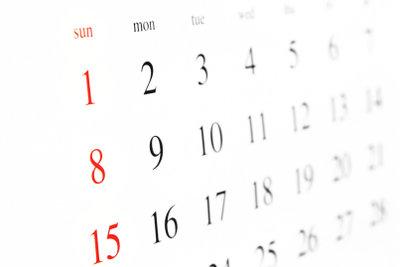 Geben Sie auf einem Brief immer das aktuelle Datum an.