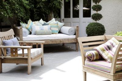 Das i-Tüpfelchen eines schönen Hauses ist eine schön angelegte Terrasse.