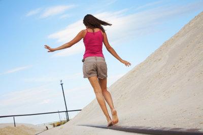 Training hilft gegen Schwindel beim Aufstehen.