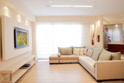 Eine neue farbliche Wohnzimmergestaltung lässt Ihr Wohnzimmer zur Lounge werden!