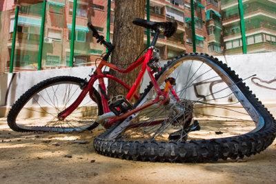 Diese Fahrrad sollte repariert werden!