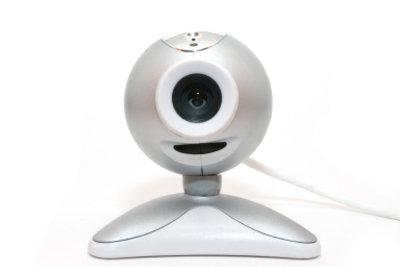 Eine Webcam können Sie leicht anschließen.