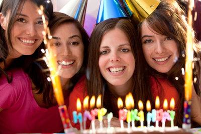 Es gibt viele Geburtstagsideen für eine schöne Feier