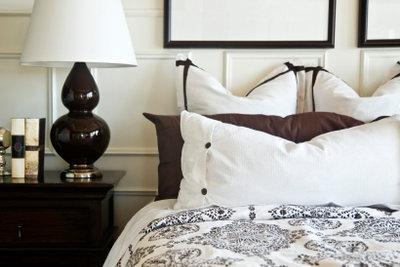 In diesem Schlafzimmer könnte man auf der Stelle einschlummern!