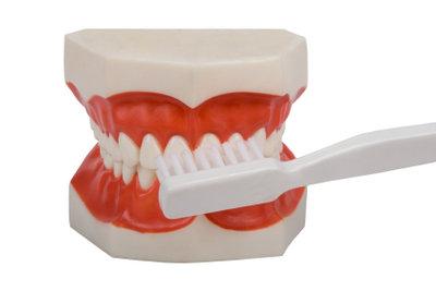Bei Zahnprothesen ist die richtige Pflege unerlässlich.
