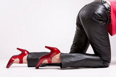 Tricks, damit eine Lederhose nicht mehr abfärbt.