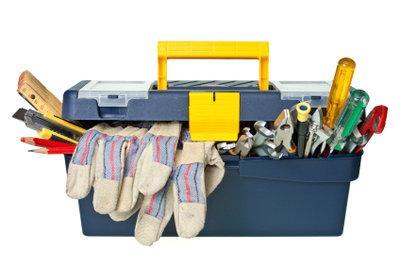 Nötige Werkzeuge für das Heimwerken.