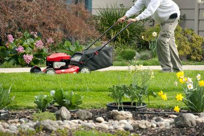 Ein schöner Rasen braucht viel Pflege, u.a. sollte man ihn ab und an vertikutieren.