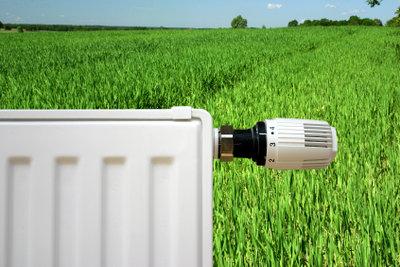 Stellen Sie die Heizung richtig ein, um Energie zu sparen.
