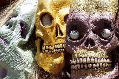 Konventionelle Horrormasken sind zu albern? Machen Sie Ihre Slipknot-Masken lieber selber.