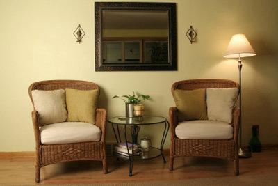 Rattan Möbel brauchen eine besondere Pflege.