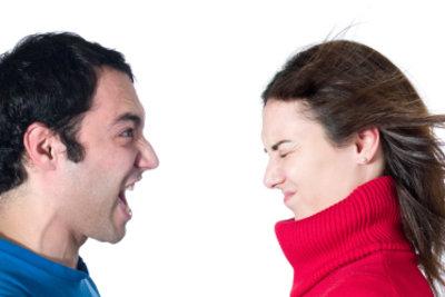 Die Streitereien mit der Ex gehen an die Nerven.