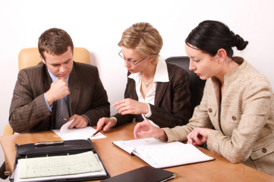 Der Bewerbungsaufbau sollte klar strukturiert sein.