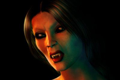Der Vampir ist der Klassiker unter den Kostümen an Halloween.