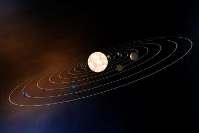 Ein Modell des Sonnensystems lässt sich auf unterschiedliche Weise bauen.