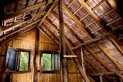 Ein Dachboden mit vielen Verstecken zieht Marder magisch an.