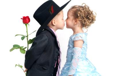 Der erste Kuss ist immer etwas Besonderes.