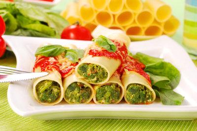 Cannelloni sind eine gute Idee für ein Ostersonntagsessen.